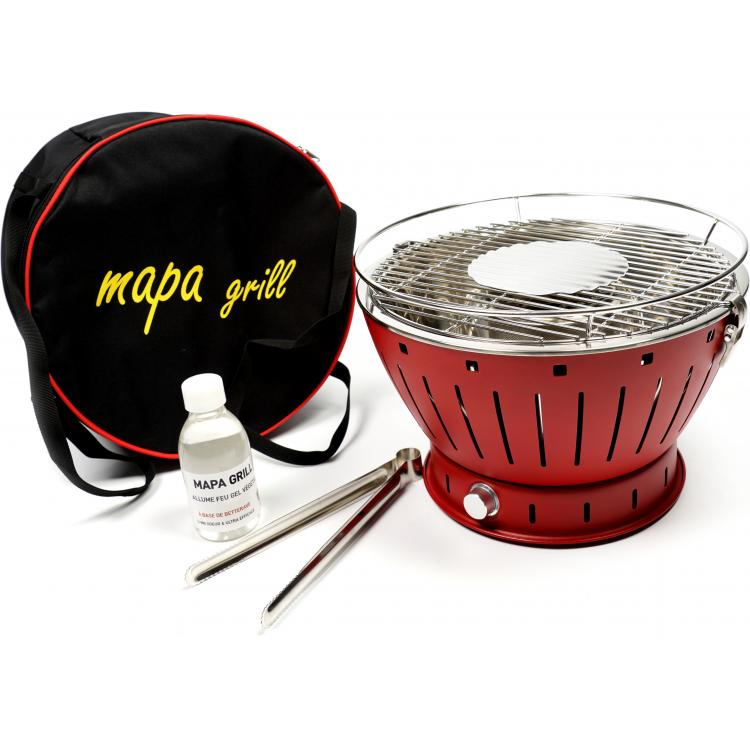 Barbecue nomade Mapa Grill rouge