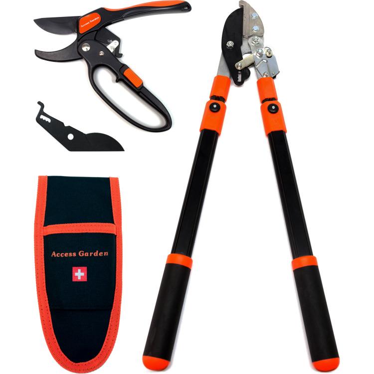 Packs d'outils sécateur + coupe-branche