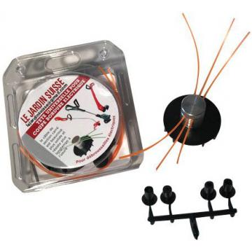 Tête pour coupebordures électrique  fil
